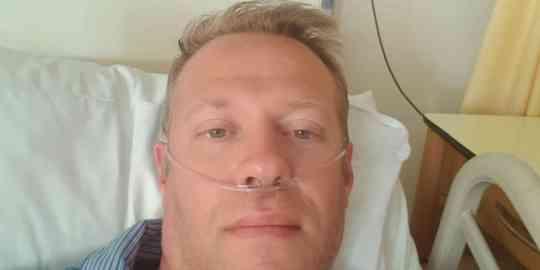 Walter aan de zuurstofpomp